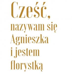 Agnieszka Błaszczyk mistrz florystyki dyplomowany florysta florystyka Kraków